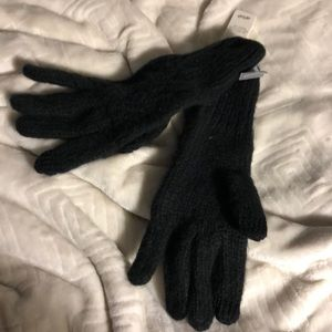 Point touch knit gloves from aerie